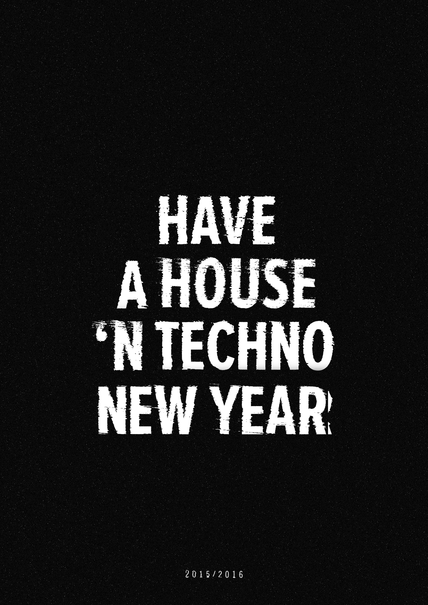 House 'n Techno Poster