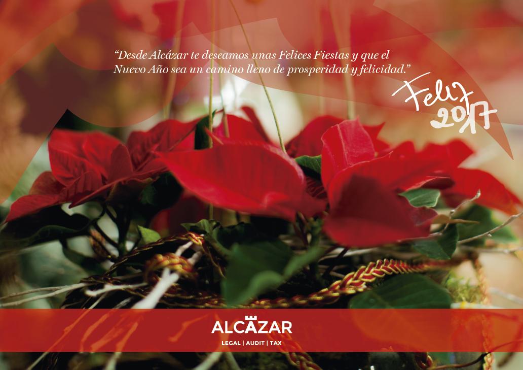 ¡Feliz Navidad!, Alcázar Abogados - Expertos reestructuraciones empresariales o societarias.