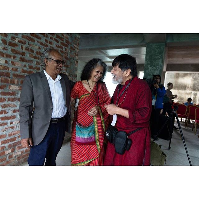 Glimps from the opening day of Chobi Mela X  #cmx2019 #chobimelax #photobiennale #photofestival #bangladesh