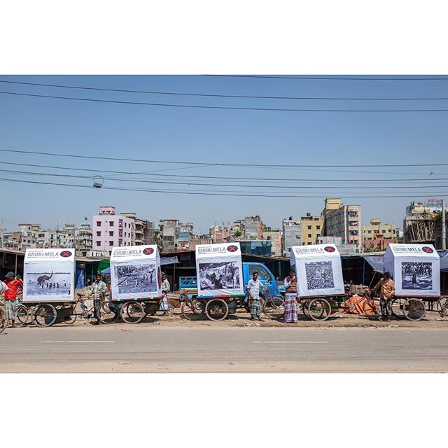Day 3 - Chobi Mela X - 28th of February till 9th of March 2019 #chobimela #cmx #dhaka #bangladesh Photos by @viola.maiwald @sebiberensphoto @mh_roman_jr