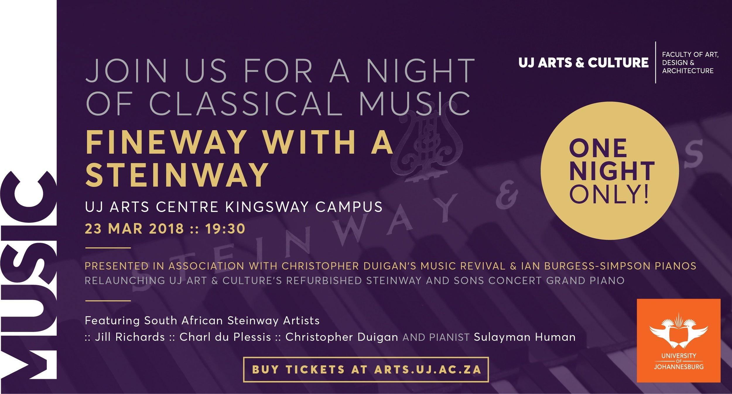 Cape Town, Franschhoek & Johannesburg —Music Revival