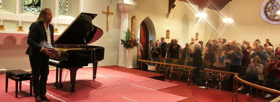 Christopher Duigan at Christ Church Constantia - Cape Town