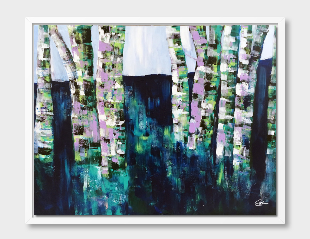 """Amongst the Birches"""