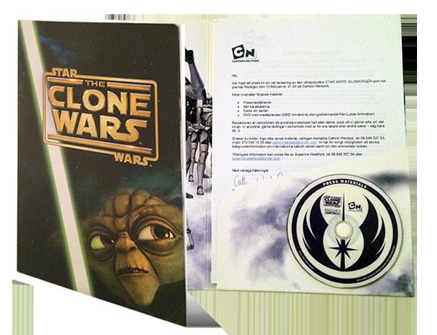 Presskit för Star Wars: The Clone Wars