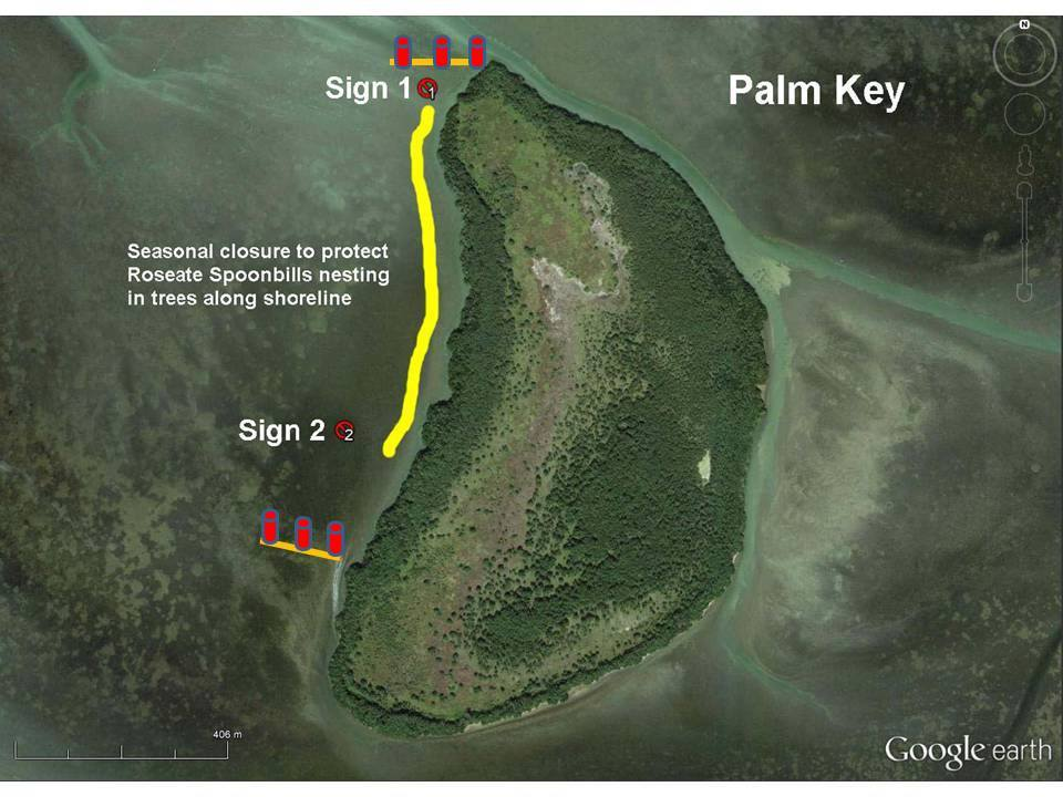 Palm Key Restricted Area Courtesy of Everglades National Park Service, Rodney Camauf