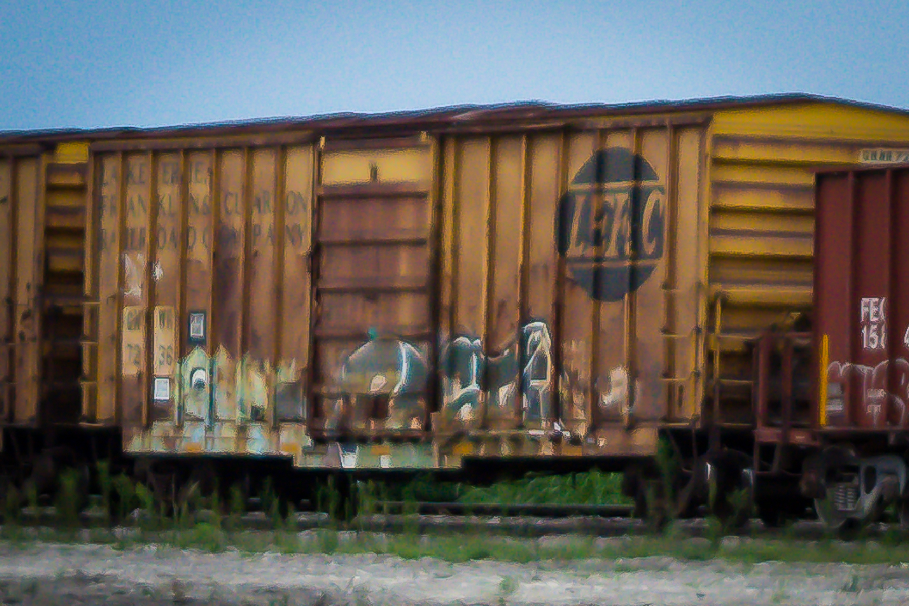 14) Graffiti on a Train Car.jpg