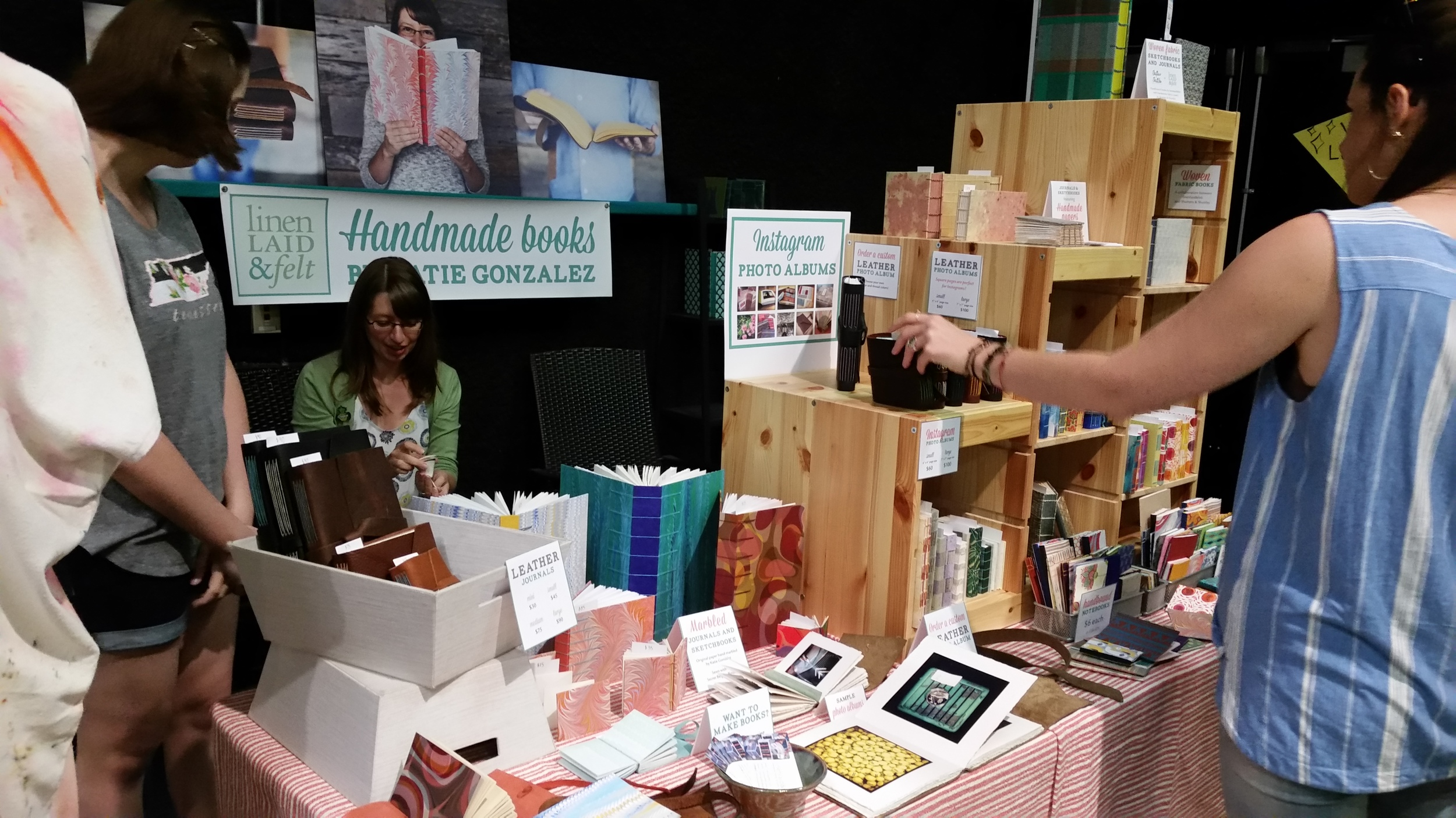 booth at porter flea