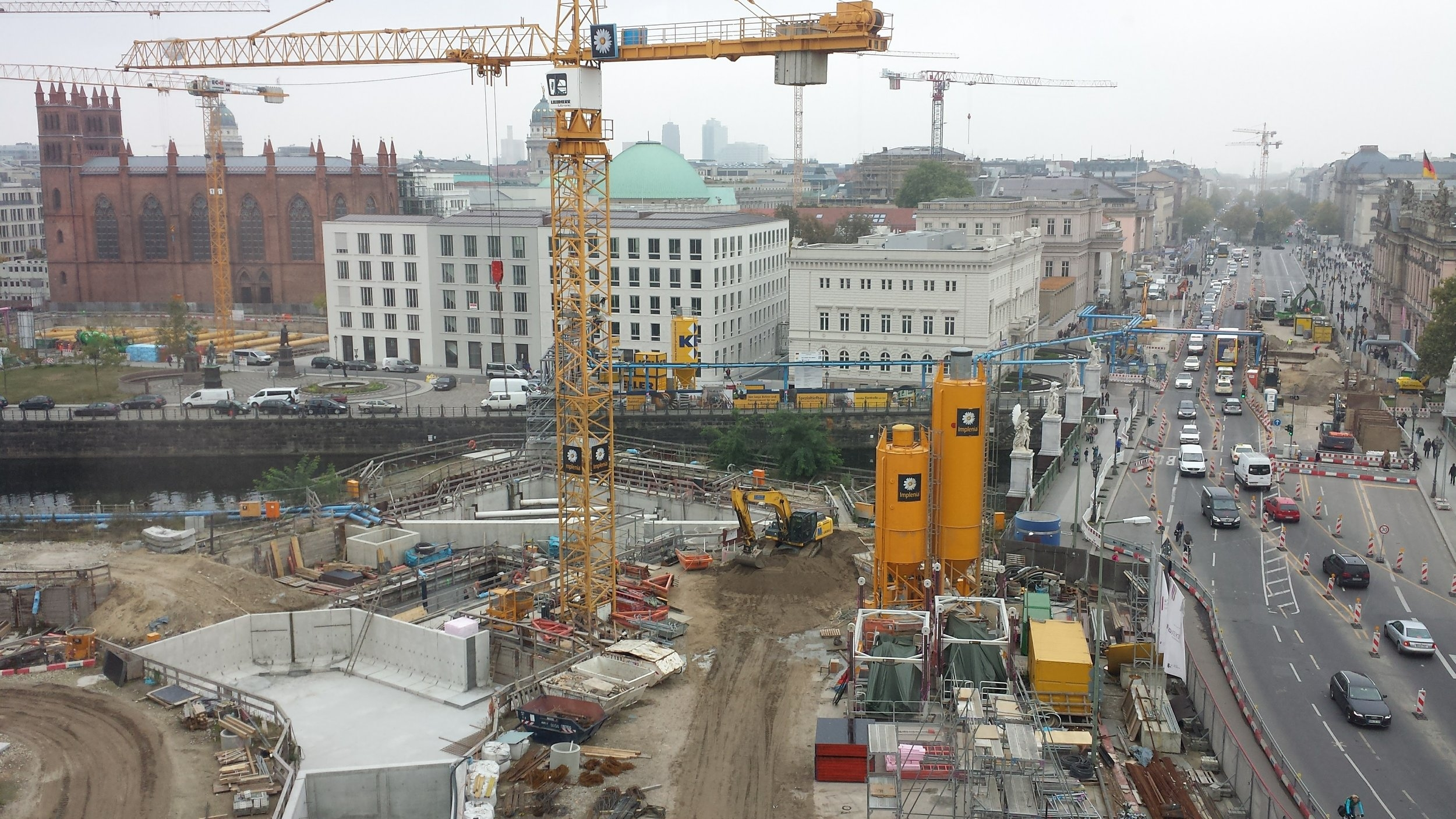 Rebuilding the Stadtschloss