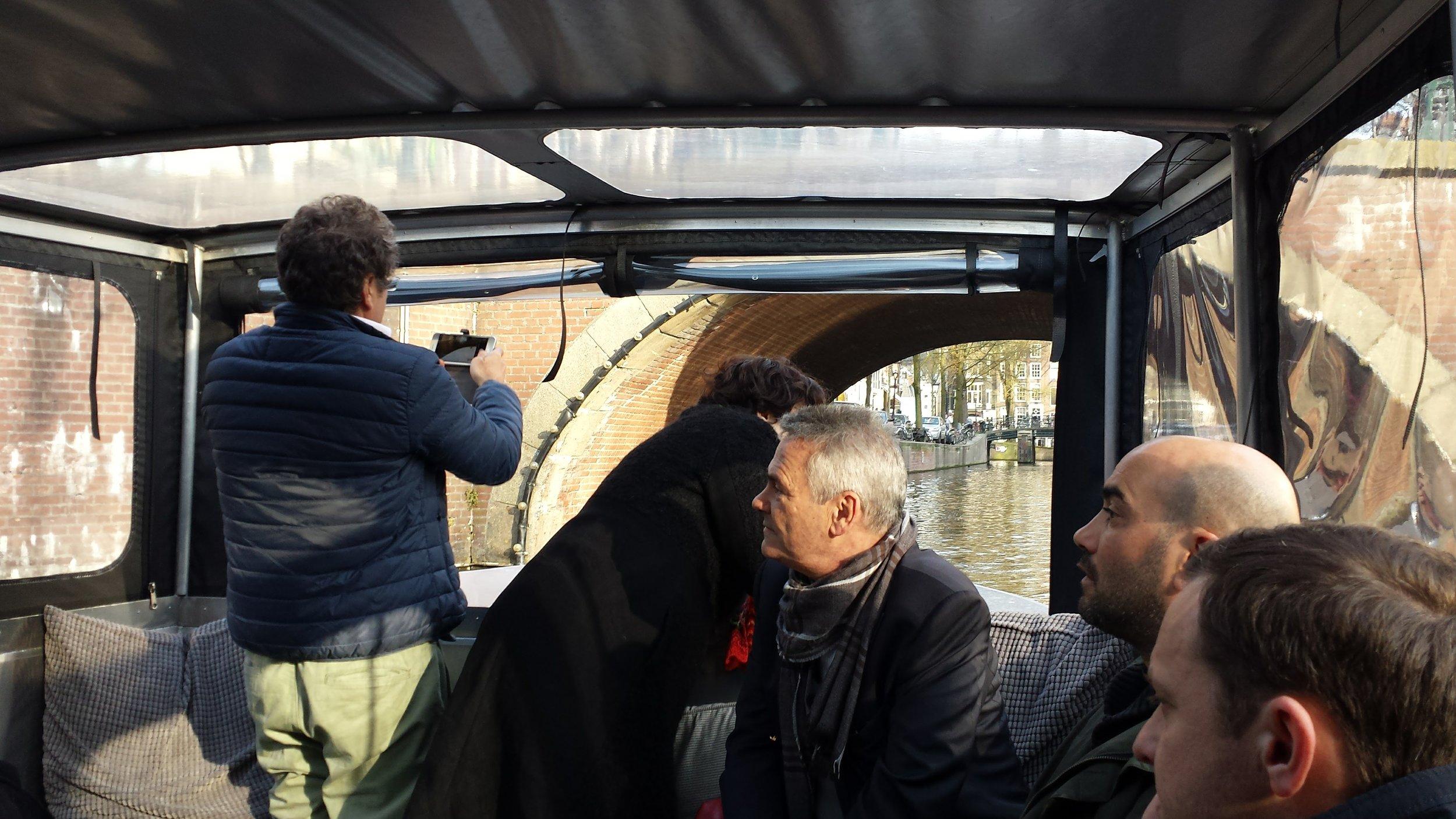Boat trip HIQ Consulting