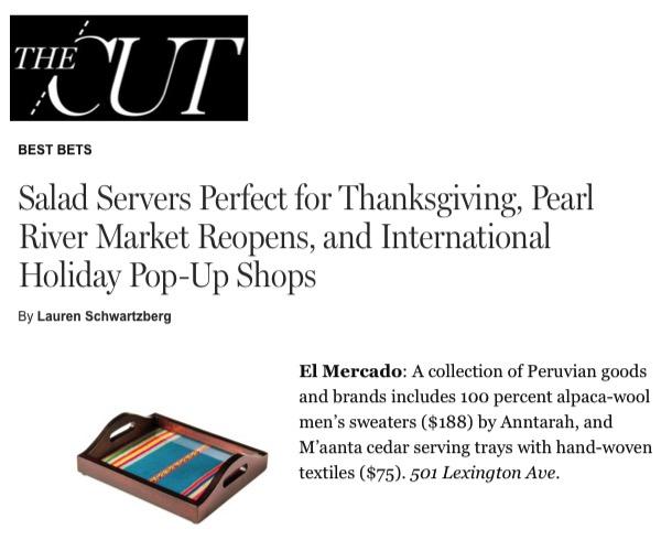 NY Mag- The Cut November 2016 El Mercado.jpg