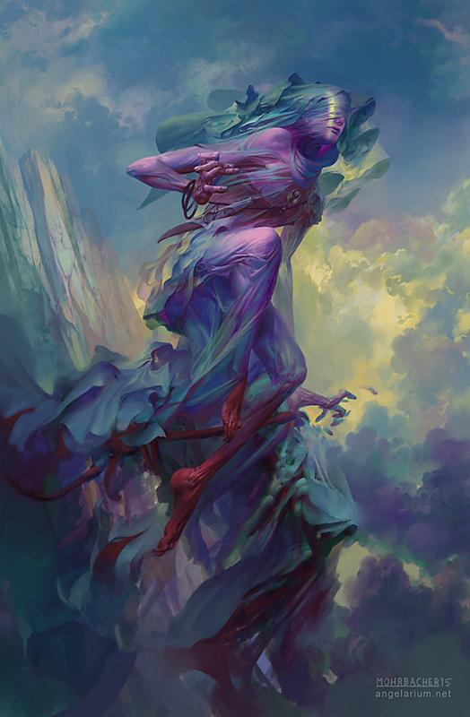 art by Peter Mohrbacher