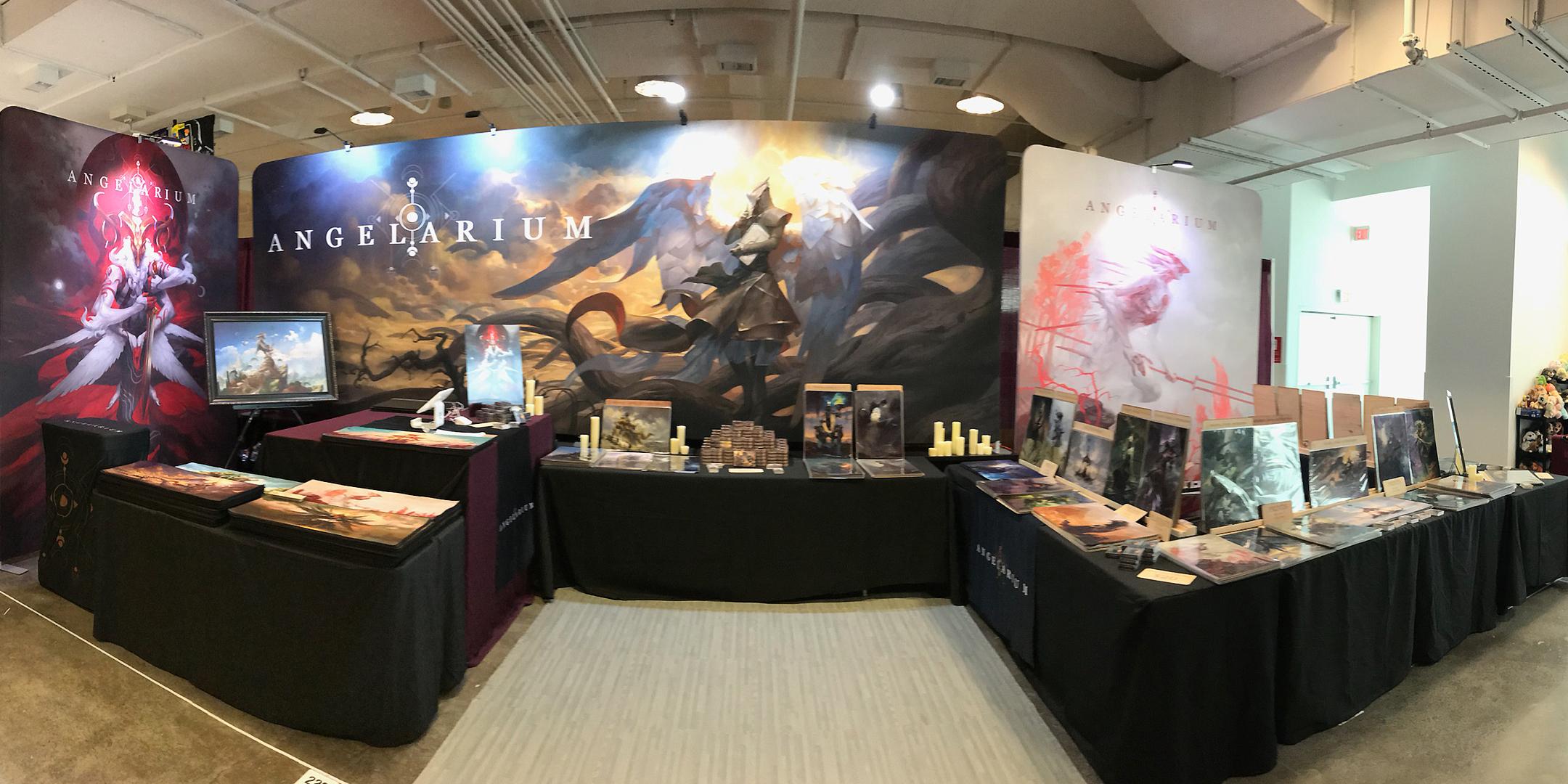 Biggest Angelarium booth to date!
