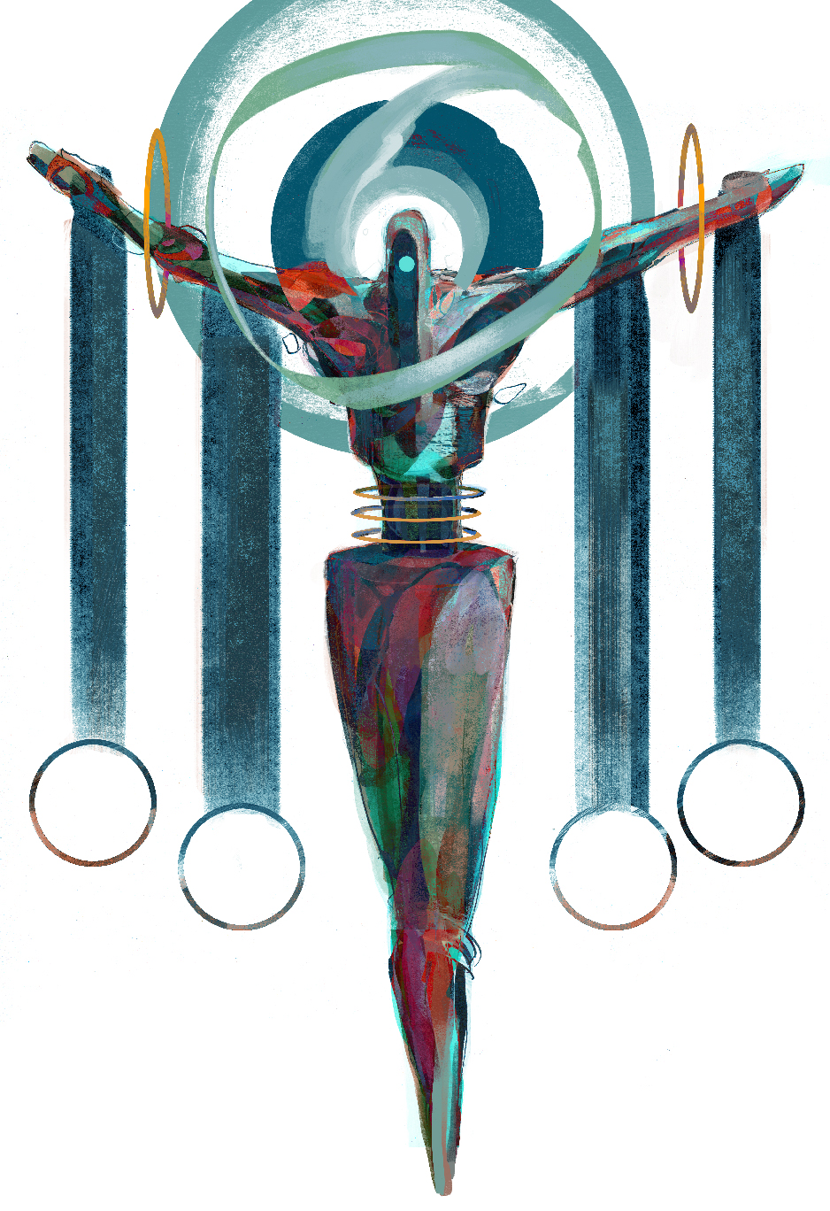 Sahaqiel art by Eli Minaya