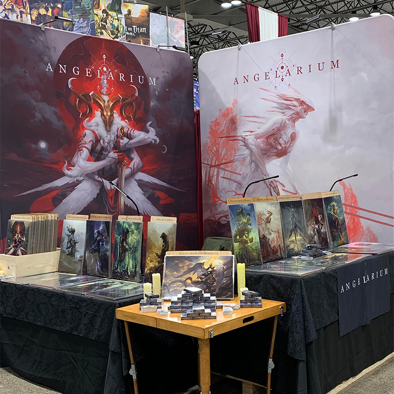 Angelarium at Planet Comicon 2019 - booth #1827