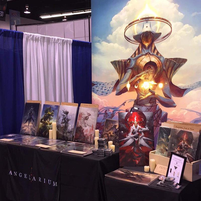 Angelarium at WonderCon 2019 - booth #1902