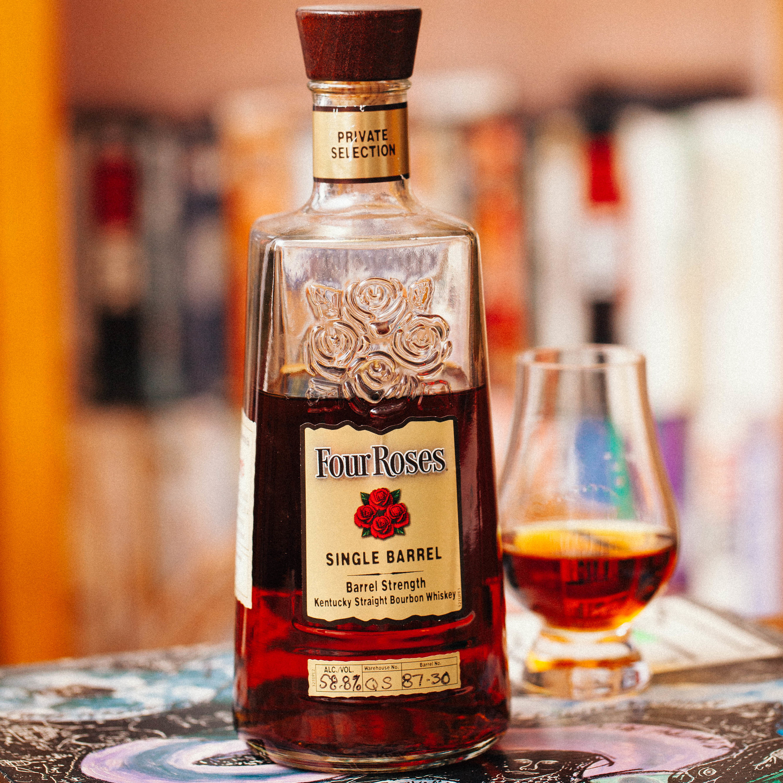 Four Roses neat