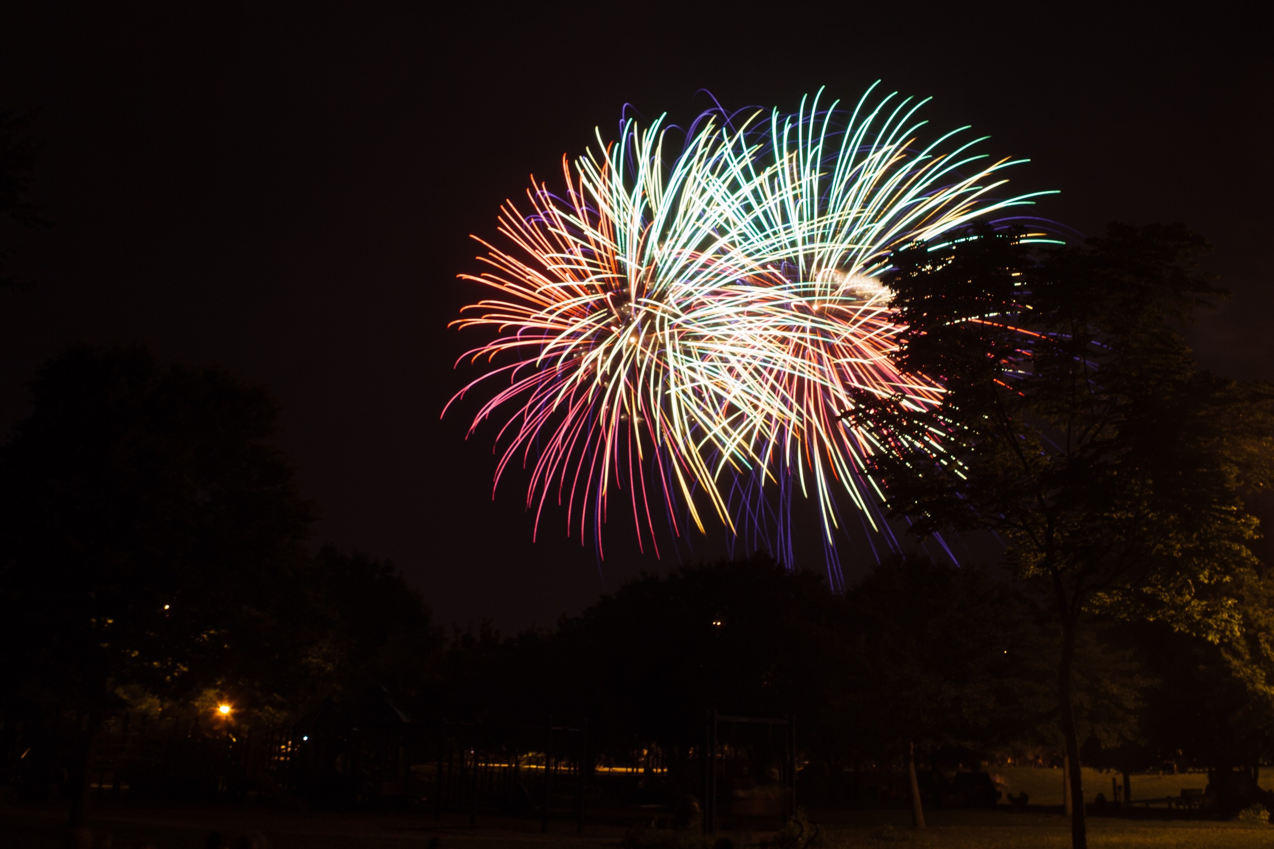 A bit of fireworks in Rochester, MN