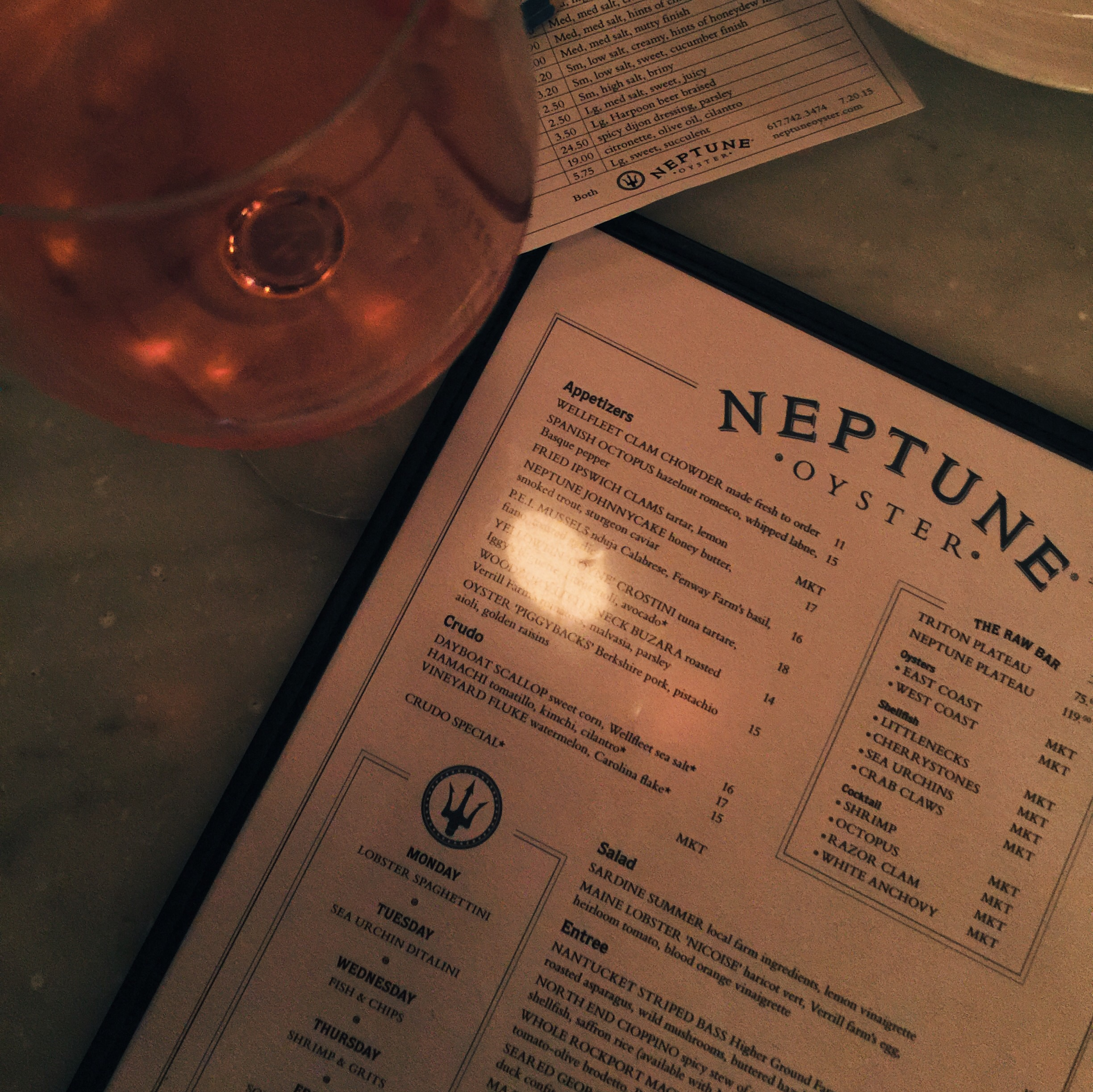 When in Boston Neptune Oyster is the place to go.