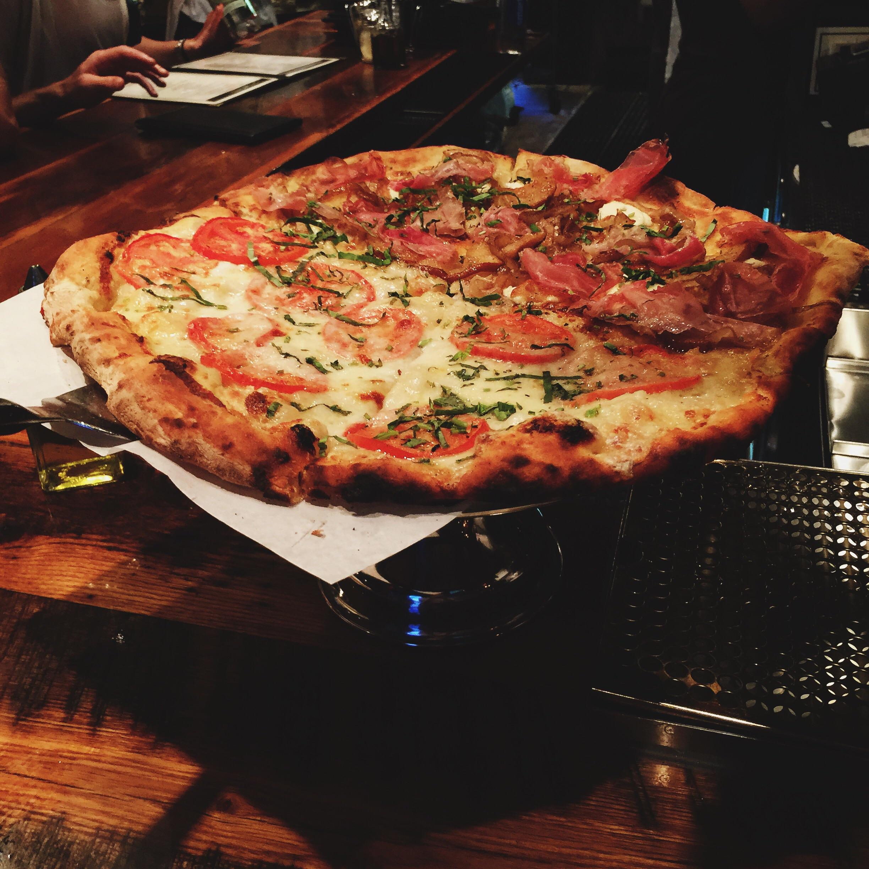 Coal fired pizza