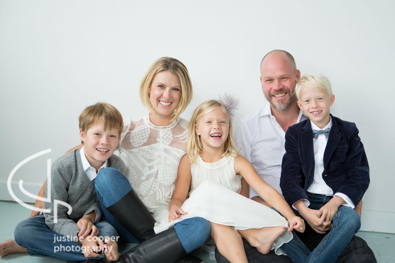 studio lifestyle family photo