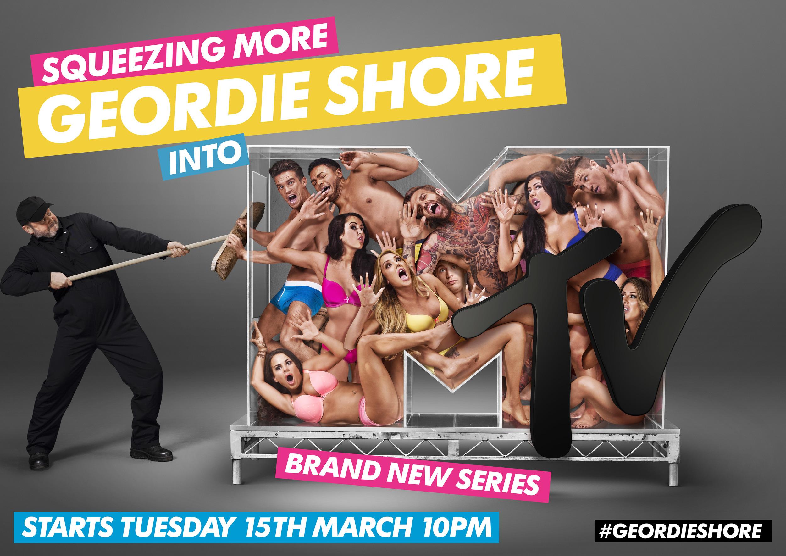 Geordie Shore Key Art Campaign - 'Squeeze'