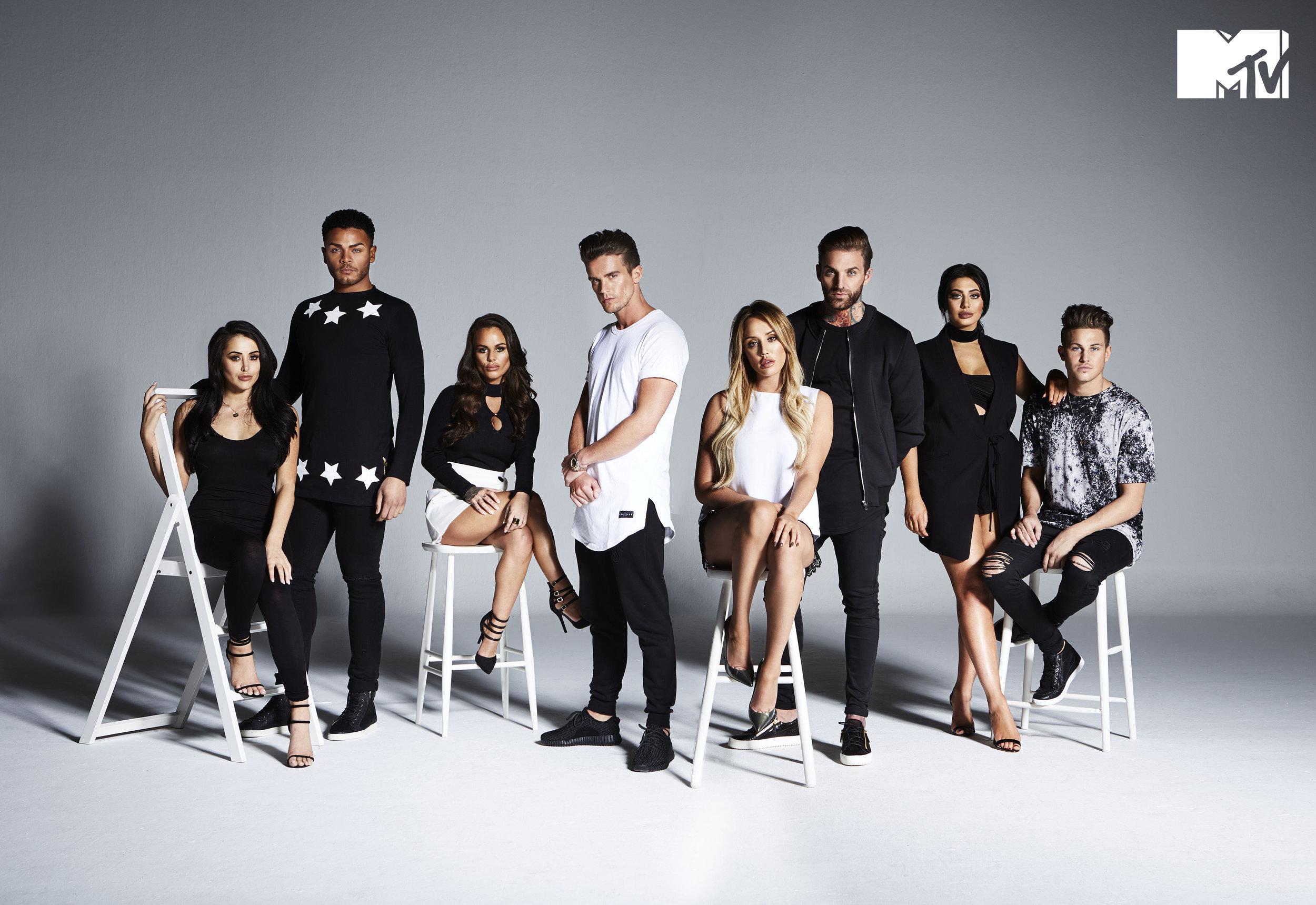 MTV Geordie Shore Promo Photography