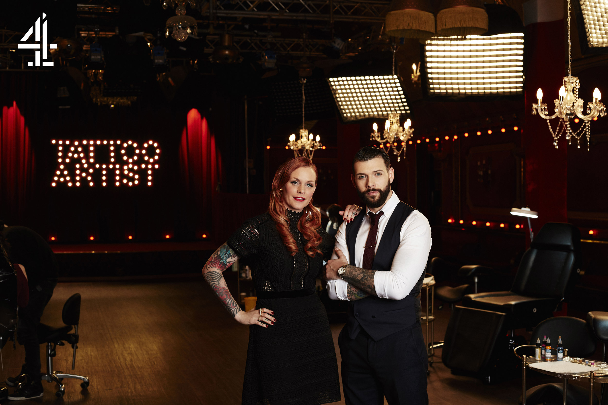 Channel 4 Tattoo Artist of the Year Promo Photography