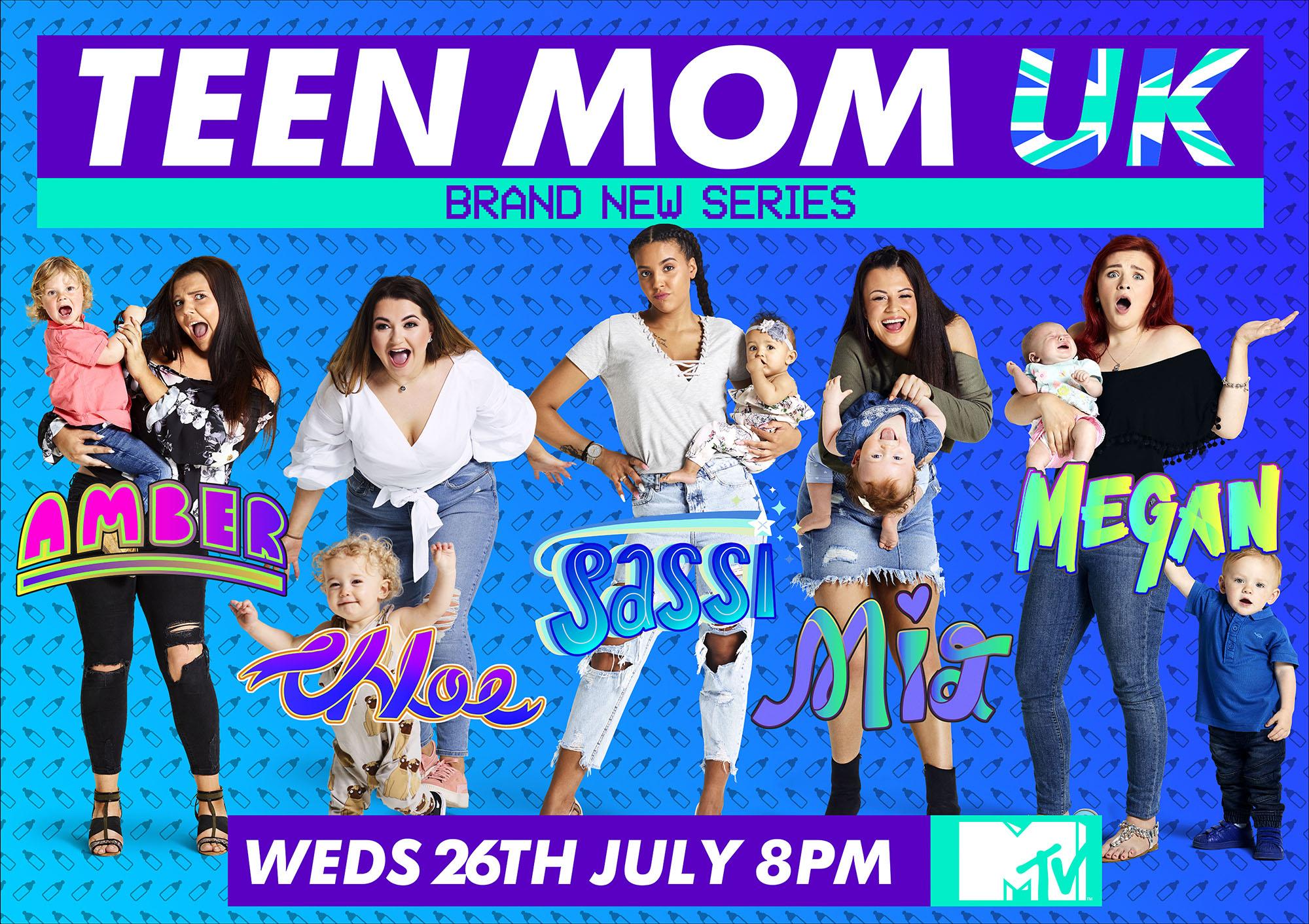 MTV's Teen MOM UK Key Art Campaign