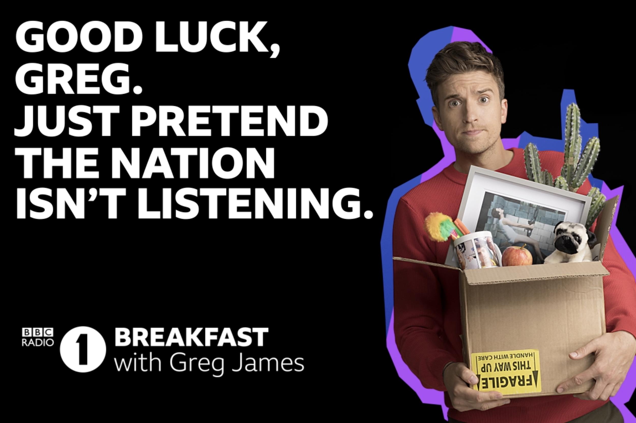 Don't Blow it Greg - Moving Billboard Key Art Campaign