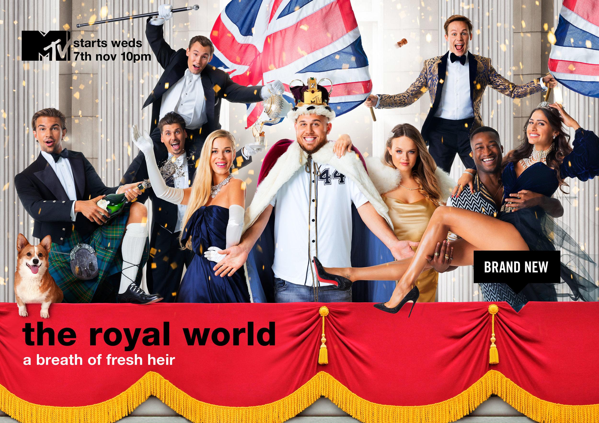 The Royal World - Key Art Campaign