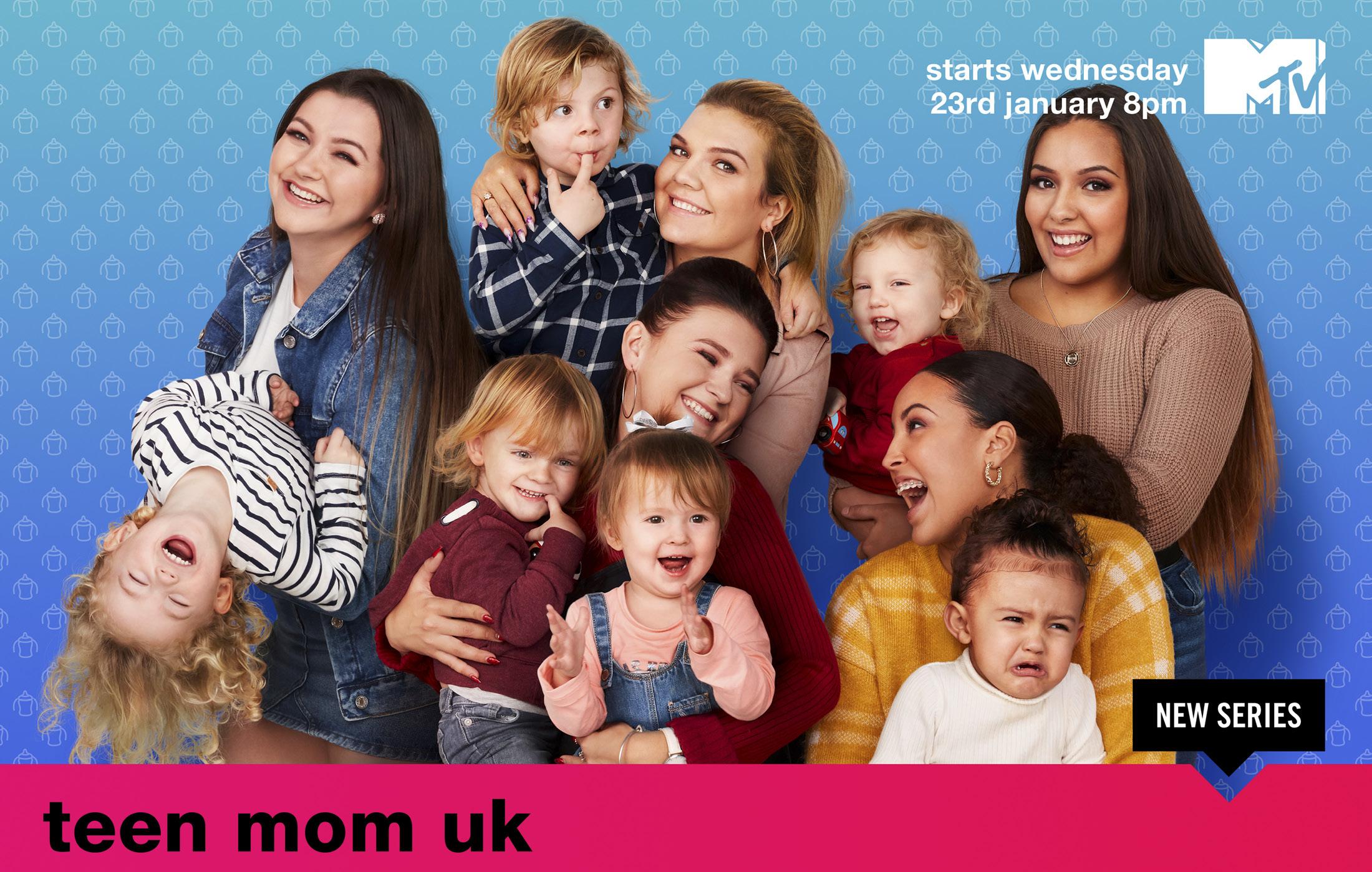 MTV's Teen Mom - Key Art Campaign