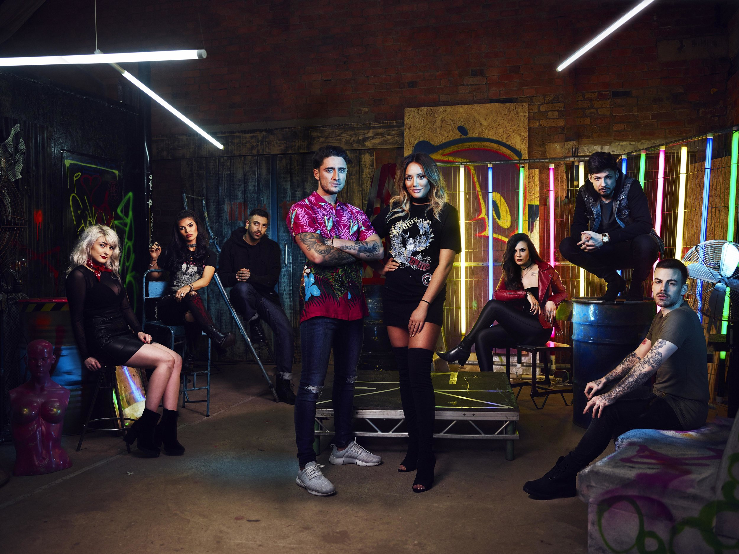 MTV's Just Tattoo of Us - Promo Photography