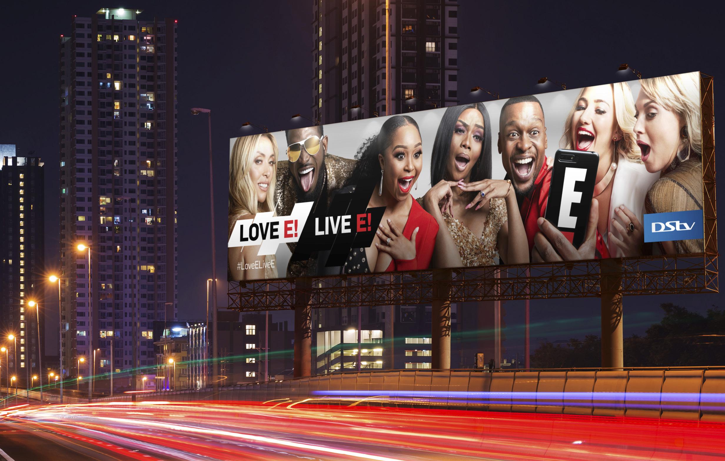 NBCU 'Love E! Live E!' Brand Campaign