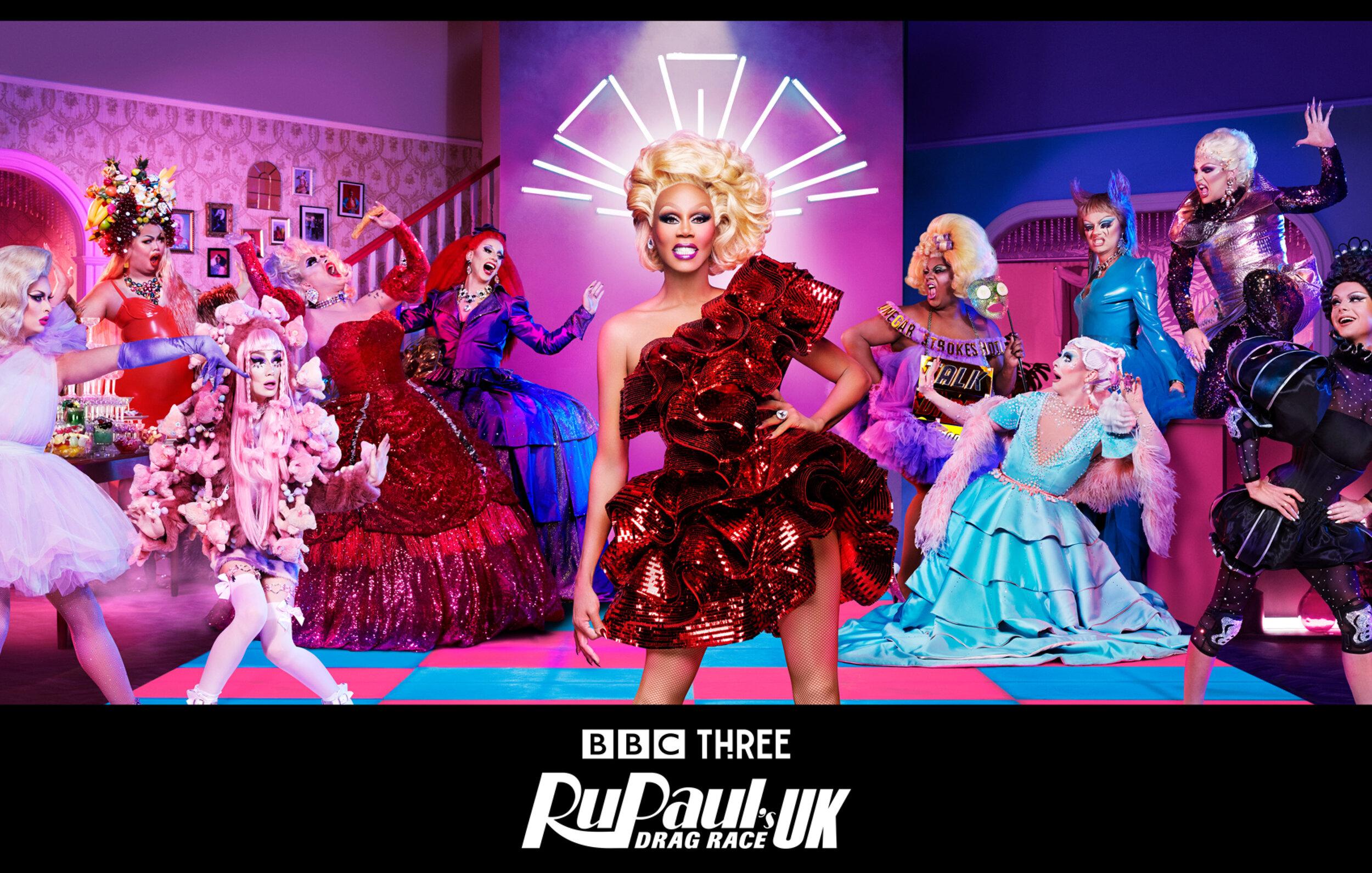 RuPaul's Drag Race UK - Key Art Campaign - BBC3