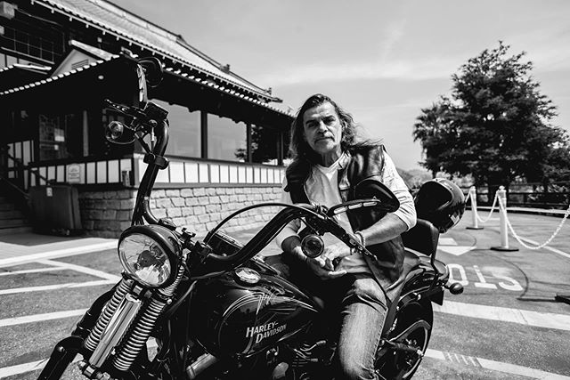 Throwback to meeting and capturing the incredibly badass Chef Christophe on a sweltering day in the Hollywood Hills. 🏍