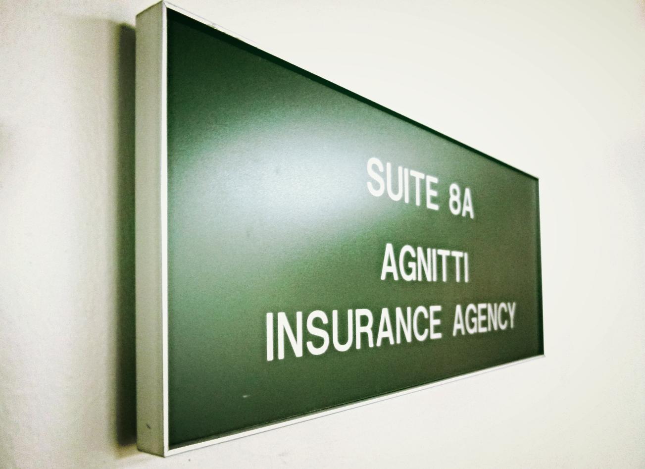 Agnitti-insurance-sign