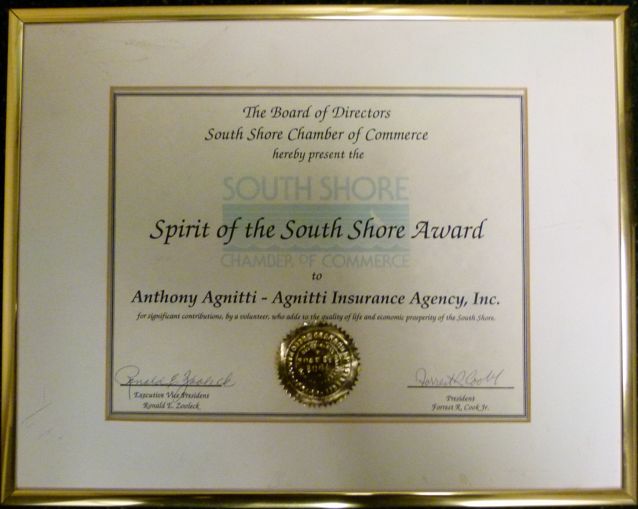 Spirit-of-the-south shore-chamber-of-commerce-Anthony-Agnitti
