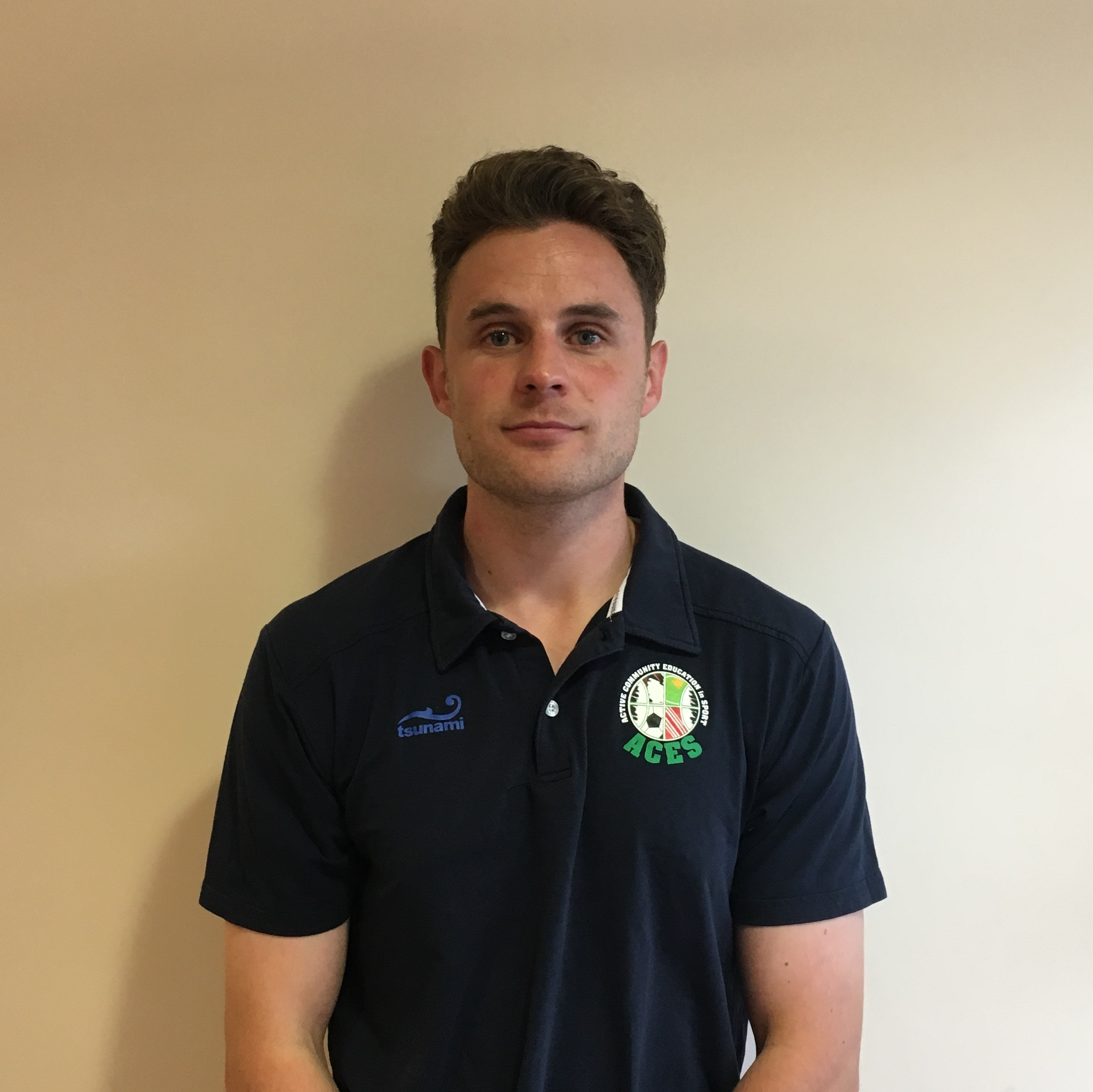 Ryan Sledge  Active: Director.    ACES Team Leader.     Qualifications:   Bsc (Hons) in Sport, Health & Exercise. PGC in Sports & Rehabilitation. SQA in Massage    Representative:   Abertay University Football team, Dundee United Community Coach. Fitness Coach at Lincoln City FC.