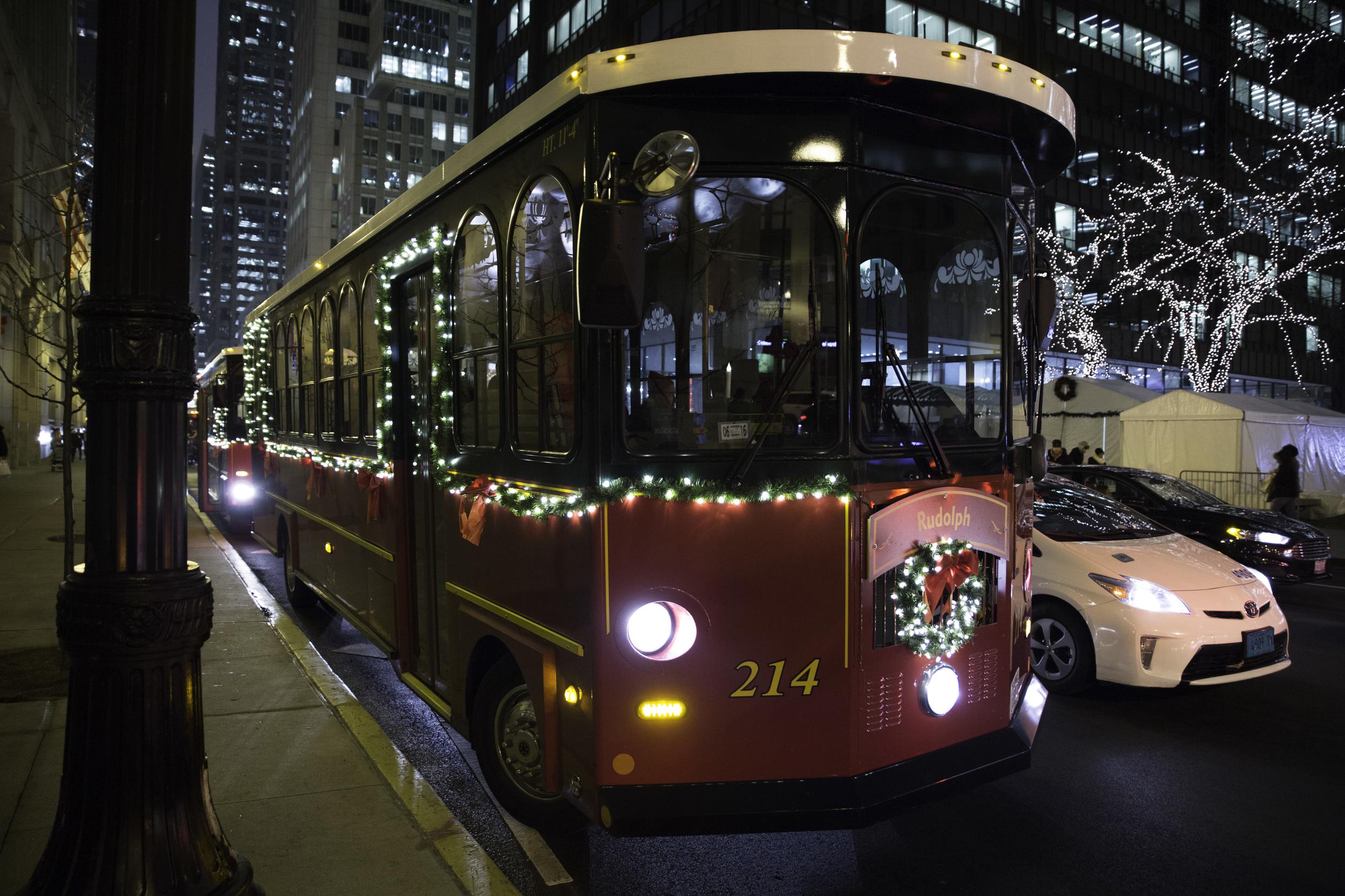 BYOB Holiday Lights Trolley — Events