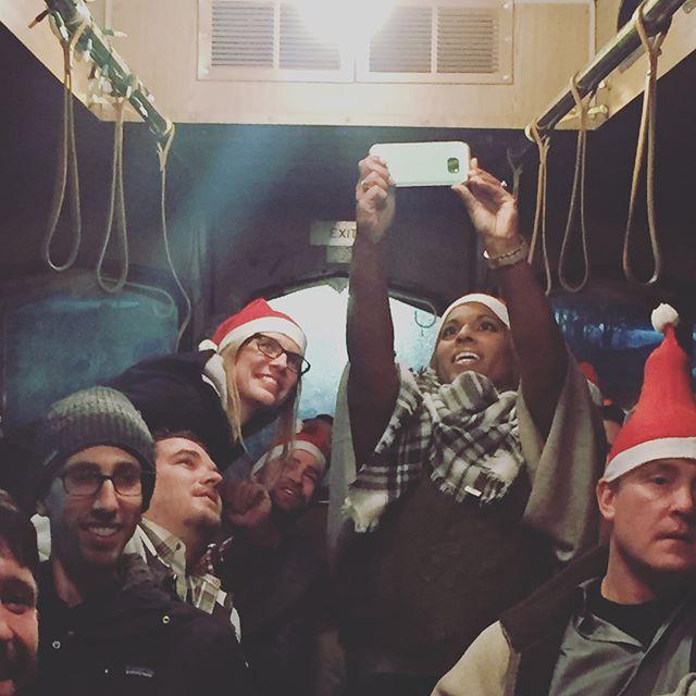 12.15.17 Grand Rapids #christmas #merrychristmas #byobholidaylightstrolley #eventswithbenefitz #holidays #christmasfun #christmasseason #santa #joy #happiness #christmas2017 #grandrapids