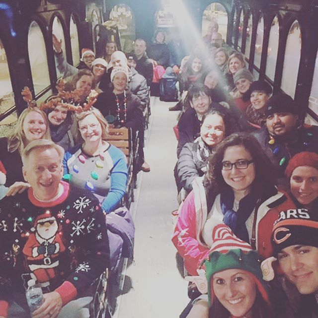 Grand Rapids #christmas #merrychristmas #byobholidaylightstrolley #eventswithbenefitz #holidays #christmasfun #christmasseason #santa #joy #happiness #christmas2017 #grandrapids