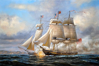 War of 1812 naval battle