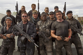 """The cast of """"Expendables 3"""""""