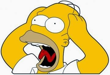 Everyone feels like screaming like Homer Simpson from time to time.