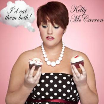 Cover of McCarron's comedy album