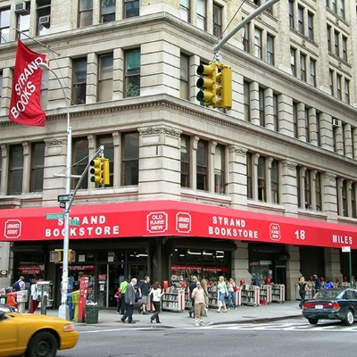 One of the best places in New York City for bookworms    Photo courtesy of Strand Book Store