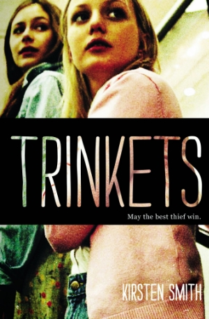 The cover of Smith's novel Trinkets