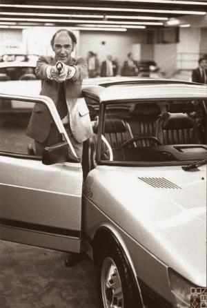 James Gardner shooting a camera man who got too close to his car.