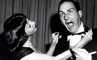 """""""The trouble with telling a good story is that it invariably reminds the other fellow of a dull one.""""  Sid Caesar"""