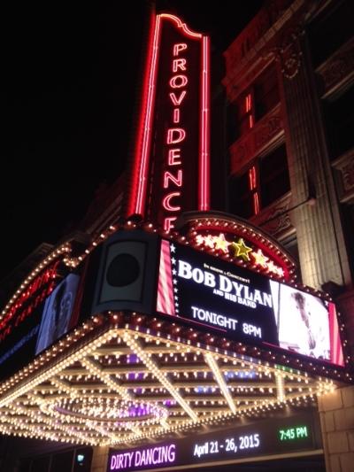 Bob Dylan live in Providence, R.I.